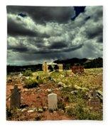New Mexico Graveyard Fleece Blanket