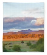 New Mexico Pastel Fleece Blanket