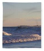 New Old Inlet I I Fleece Blanket