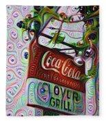 New Orleans - Clover Grill Fleece Blanket