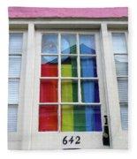 New Orleans Door 10 Fleece Blanket