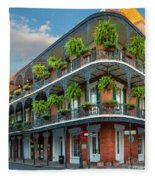 New Orleans House Fleece Blanket