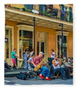 New Orleans Jazz 2 Fleece Blanket