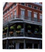 New Orleans La Fleece Blanket
