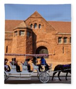 New Orleans Louisiana - Sightseeing Fleece Blanket
