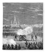 New Orleans: Riot, 1873 Fleece Blanket