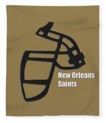 New Orleans Saints Retro Fleece Blanket