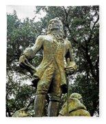 New Orleans Statues 1 Fleece Blanket