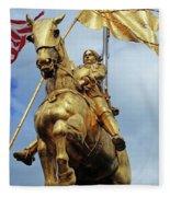 New Orleans Statues 13 Fleece Blanket