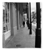 New Orleans Street Photography 1 Fleece Blanket