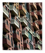 New York Apartments  Fleece Blanket
