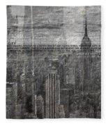 New York City 1 Fleece Blanket