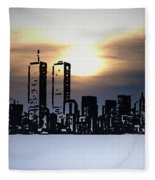 New York City - The Way We Were Fleece Blanket