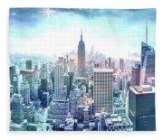 New York Fairytales Fleece Blanket