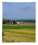 New York Farmland Fleece Blanket