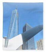 New York Freedom Fleece Blanket