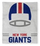 New York Giants Vintage Art Fleece Blanket