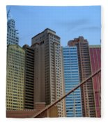 New York Hotel Fleece Blanket