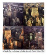 New York Mid Manhattan Medley - Photo Art Poster Fleece Blanket