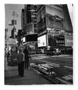 New York, New York 1 Fleece Blanket