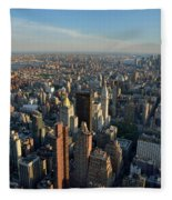 New York, New York 27 Fleece Blanket