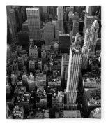 New York, New York 5 Fleece Blanket
