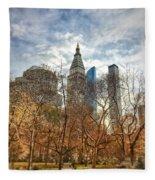 New York, New York Fleece Blanket