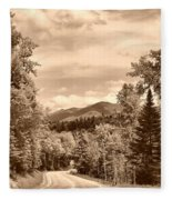 New York Roadway Fleece Blanket