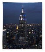 New York State Of Mind Fleece Blanket