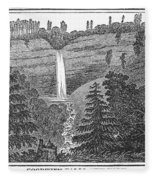 New York: Waterfall Fleece Blanket