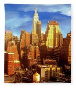 New Yorker Fleece Blanket