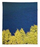 New Zealand Autumn Fleece Blanket