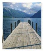 New Zealand Dock Fleece Blanket