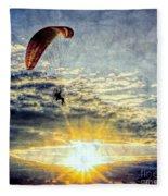 Newport Beach High Flyer Fleece Blanket