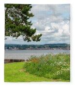 Newport-on-tay In Fife, Scotland Fleece Blanket