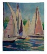 Newport Regatta  Fleece Blanket