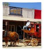 Next Stop Bisbee Fleece Blanket