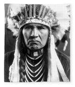 Nez Perce Native American - To License For Professional Use Visit Granger.com Fleece Blanket