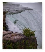 Niagara Fall Edge Fleece Blanket