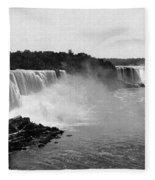 Niagara Falls, C1900 Fleece Blanket