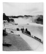Niagara Falls, C1905 Fleece Blanket