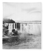 Niagara Falls, C1909 Fleece Blanket