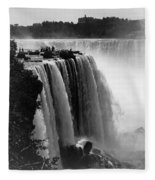 Niagara Falls, C1911 Fleece Blanket