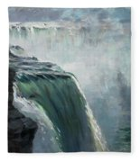Niagara Falls Ny Fleece Blanket