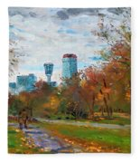 Niagara Falls Park Fleece Blanket