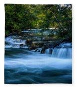 Niagara River Above The Falls_dsc8569_16 Fleece Blanket