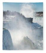 Niagara Up Close Fleece Blanket