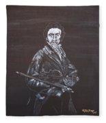 Niccolo Paganini Fleece Blanket