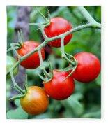 Nice Tomatoes Fleece Blanket