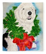 Nicholas Christmas 2013 Fleece Blanket